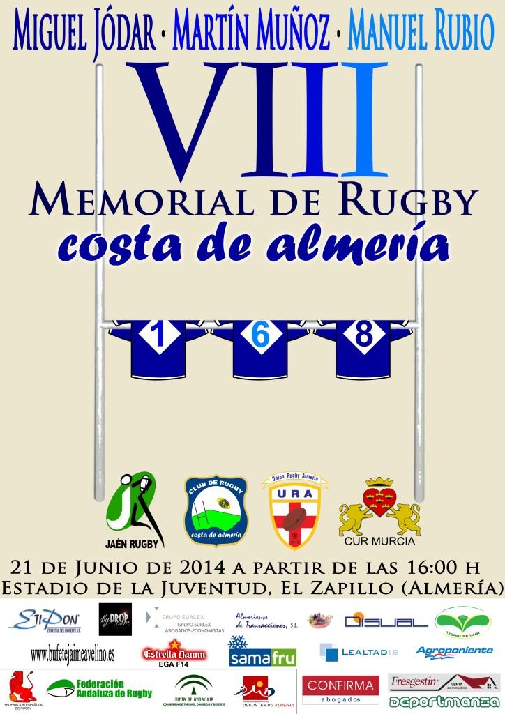 Cartel VIII Memorial Costa de Almeria