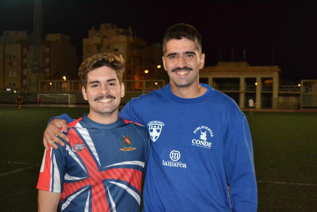 Borja Jiménez (izq) y Manolo Ortiz