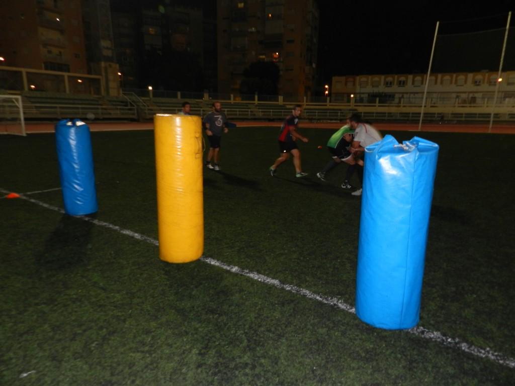 URA Costa de Almería entrenamiento previo a Jaén