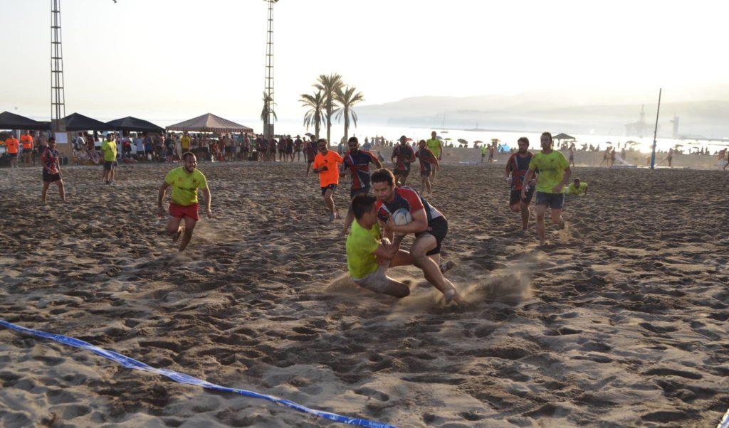torneo rugby playa semifinal marrajos - vinagres