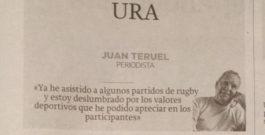 """URA"", por Juan Teruel"